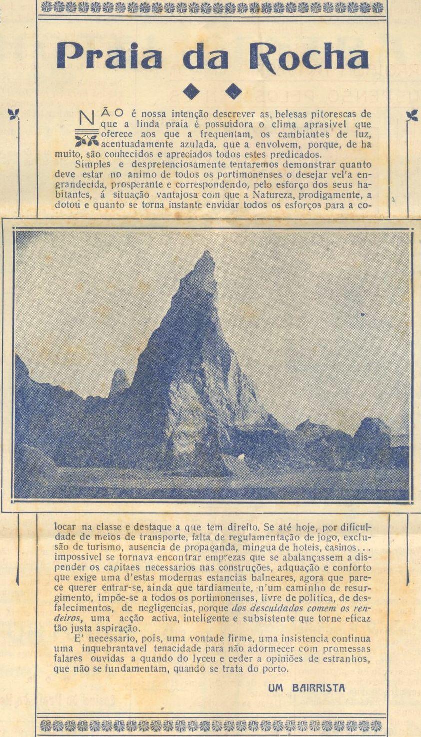 """Jornal """"Comércio de Portimão"""""""