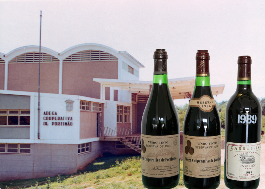 Garrafas de vinho | Cooperativa de Portimão