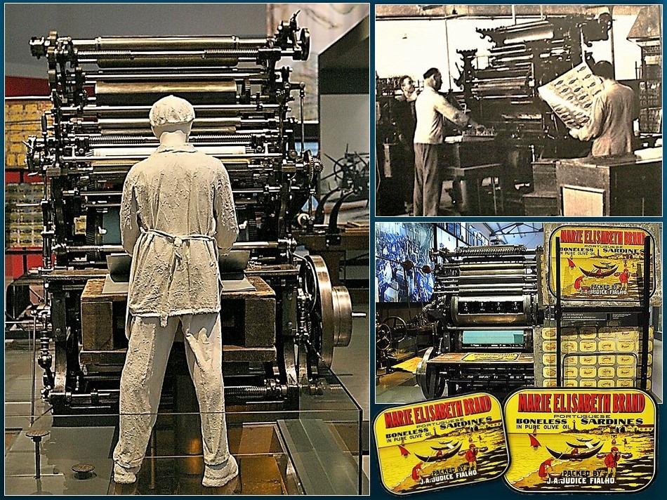 Máquina litográfica