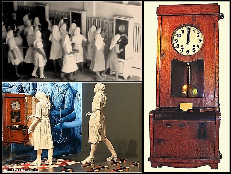 Será meio-dia ou meia-noite, neste relógio de ponto?